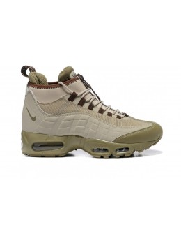 Nike Air Max 95 SneakerBoot  Бежевые